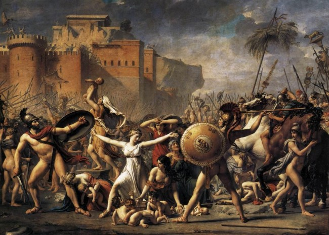 Les Sabines de Jacques-Louis David