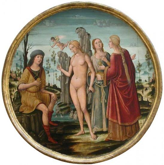 Girolamo di Benvenuto Le jugement de Pâris