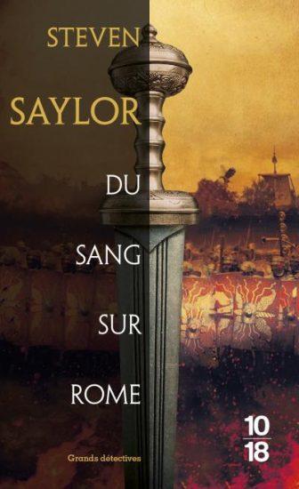 Couv Du sang sur Rome