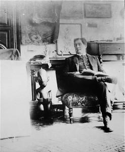 Une photo prise par Picasso pendant l'automne 1910